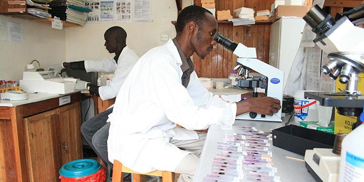 The Lab at Bwindi Community Hospital