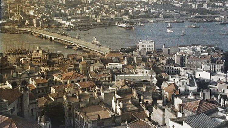 Das Goldene Horn, Galata Brücke